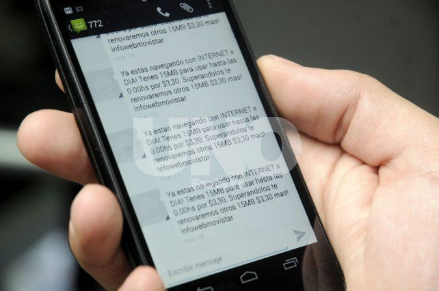 Una empresa de telefonía móvil deberá pagar un millón de pesos a un usuario