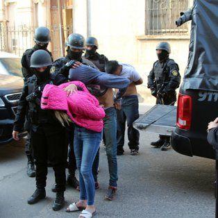 Desbaratados. El jueves, en una serie de allanamientos, fueron arrestados varios integrantes.