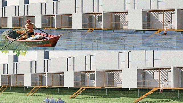 Programa de Reconstrucción: Nación invierte $ 120 millones para construir 140 nuevas viviendas en la Ciudad