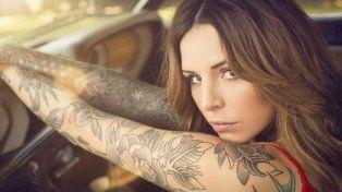 El nuevo tatuaje de Candelaria Tinelli