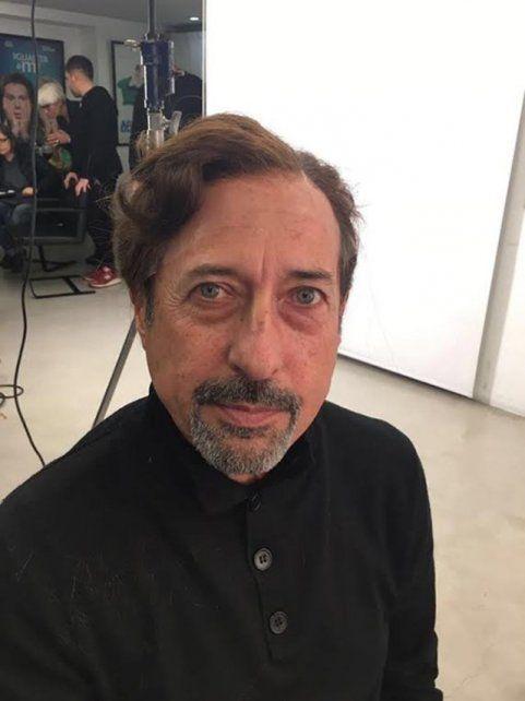¿Qué se hizo? Mirá el nuevo look de Guillermo Francella