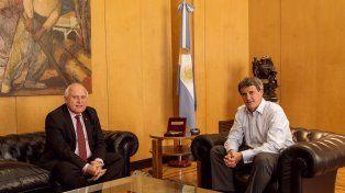 Lifschitz busca avanzar en acuerdos con el Gobierno Nacional