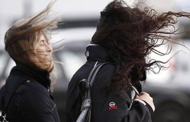 Alerta por vientos intensos con ráfagas que afecta a la provincia de Santa Fe