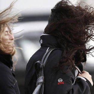 alerta por vientos intensos con rafagas