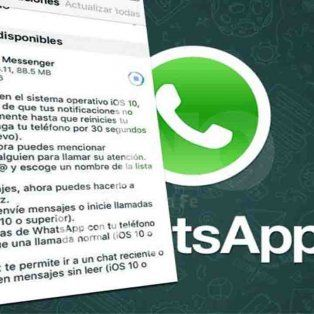 llega la nueva actualizacion para whatsapp