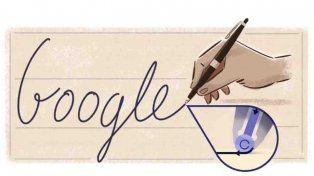 Google dedica su doodle al fundador de la birome