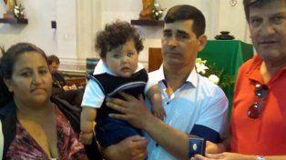 Un niño santafesino es el ahijado del presidente Macri