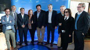 Con la presencia de Andrea del Boca y Víctor Laplace