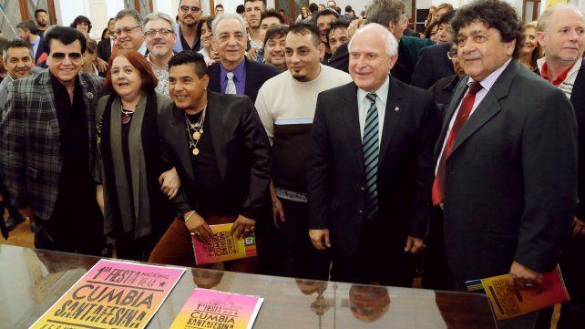 Se presentó la primera Fiesta Nacional de la Cumbia Santafesina