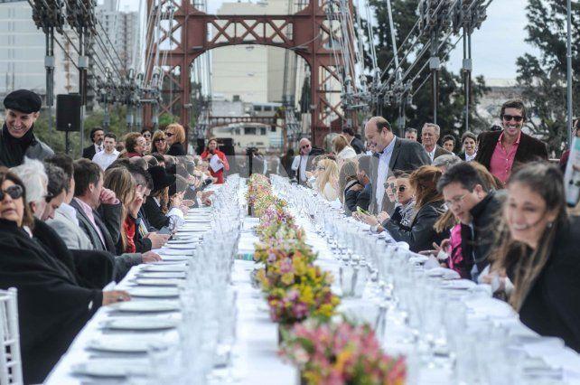Así fue Cocina a ocho manos en el Puente Colgante