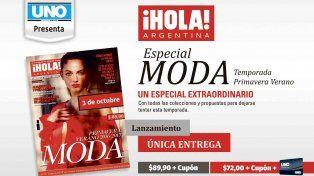 Este lunes llega Revista Hola colección Primavera-Verano