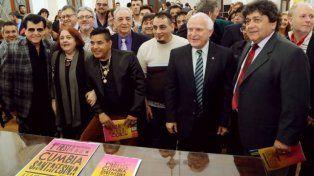 Este jueves el gobernador había presentado la realización de la Fiesta Nacional junto a autoridades provinciales