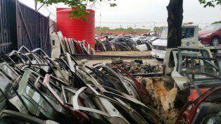 Megaoperativo en Morón: desarticulan una organización que operaba bajo la modalidad de piratería del asfalto