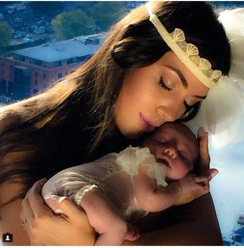 Escándalo: la foto de la beba de Floppy Tesouro indignó a Instagram