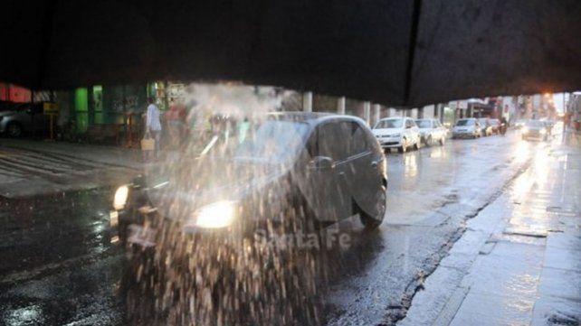 La tormenta dejó sin luz a parte de Santa Fe y Santo Tomé