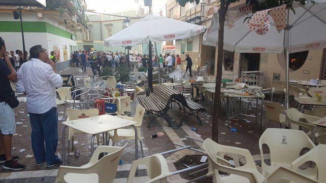 Explosión deja 90 heridos en una cafetería del sur de España