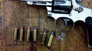 Secuestraron dos armas de guerra y detuvieron a tres violentos delincuentes