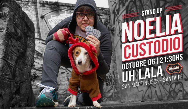 No te pierdas el show de Noelia Custodio en Santa Fe