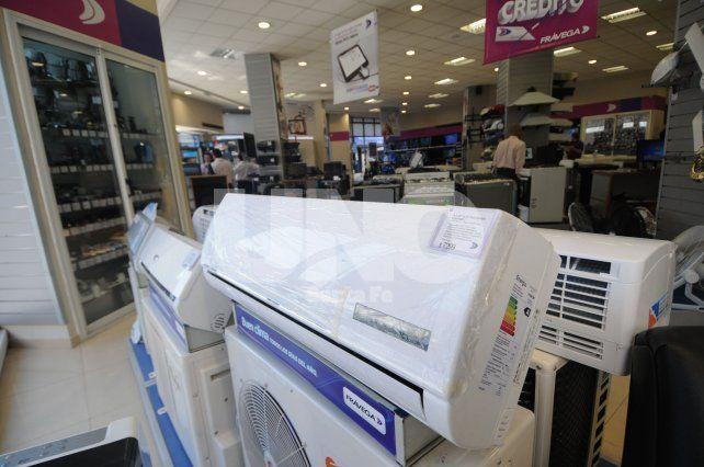 Electrodomésticos. Los productos de línea blanca son los más afectados por el ingreso de mercadería.