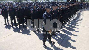 la provincia aumentara 27,75 % las horas extras y adicionales a la policia