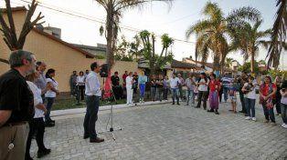 Barrio Ledesco crece con nuevas obras de pavimento articulado