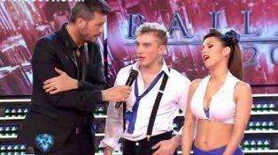 Papelón: El Polaco se quedó duro en medio de la coreografía