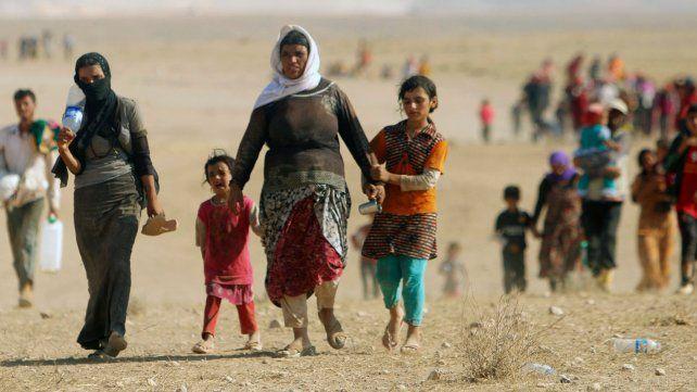 Una iglesia de San Lorenzo les dará contención a refugiados sirios