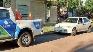 Detuvieron a un gendarme con un auto sin papeles y que se resistió al control policial