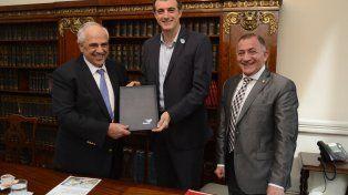 Bullrich recibió al Secretario General de UNASUR, Ernesto Samper