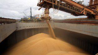 Por los puertos de Santa Fe ingresó soja por un valor de 730 millones de dólares