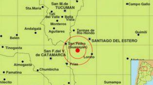 Un fuerte temblor sacudió a Santiago del Estero durante la madrugada