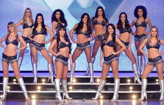 Antiguas y actuales bailarinas se retaron a duelo: el video