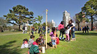 Tras la tormenta de febrero ya se plantaron 9 mil árboles en toda la ciudad