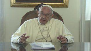 El Papa sorprendió a los santafesinos con un mensaje en video