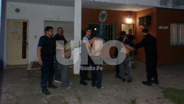 Cayeron en Villa Constitución después de robar en Buenos Aires