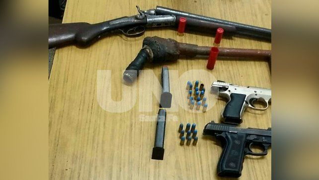 Después de un intenso tiroteo en San Agustín detuvieron a ocho delincuentes