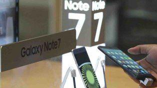No va más: Samsung retiró de la venta el Galaxy Note 7 y aconsejó a sus usuarios que los apaguen