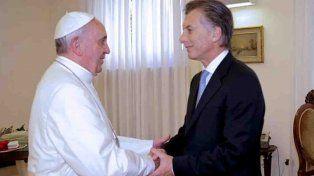 El presidente Macri se entrevistará por segunda vez con el Papa en el Vaticano