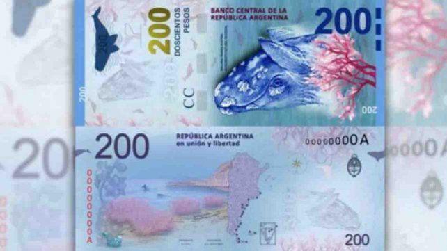 Ya tiene fecha de lanzamiento el billete de 200 pesos