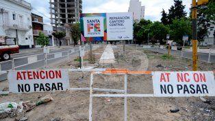 ¿Volvió el socavón de Urquiza y Bulevar?