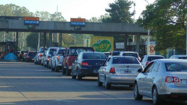 El fin de semana largo pasaron más de 63 mil vehículos por el Túnel Subfluvial