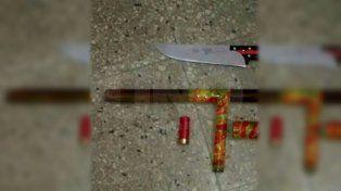 Una pareja que escapó de un control policial hirió con un cuchillo a una mujer policía