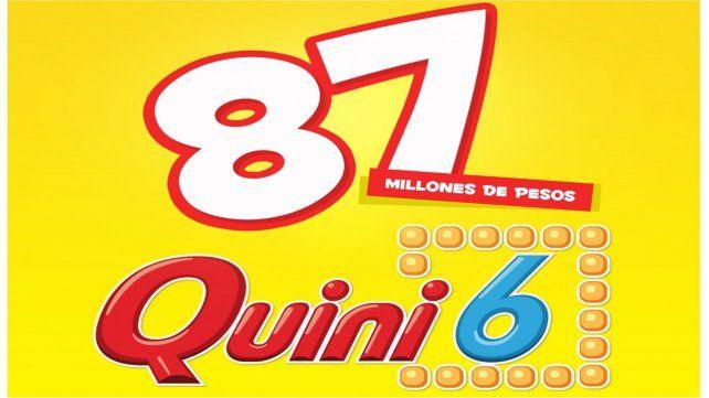 Pozo millonario para el Quini 6: 87 millones de pesos