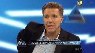 Fantino durísimo con los jugadores de la selección argentina: Dieron asco