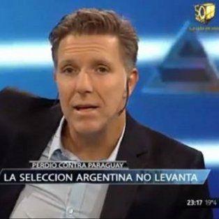 fantino durisimo con los jugadores de la seleccion argentina: dieron asco