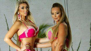 Madre e hija compiten para ser la mejor cola de Brasil
