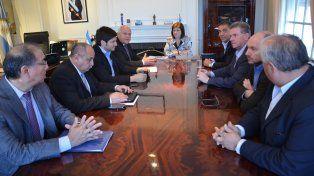 Balance. La reunión fue en Buenos Aires para evaluar los primeros trabajos de coordinación.