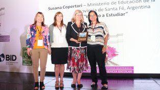 El Plan Vuelvo a Estudiar fue premiado como mejor programa de inclusión socioeducativa de Latinoamérica