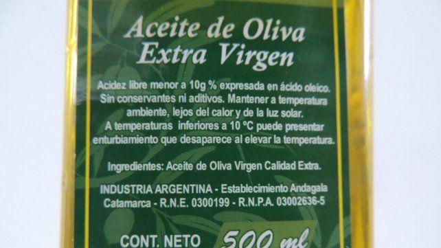 Prohibieron la circulación de un conocido aceite de oliva