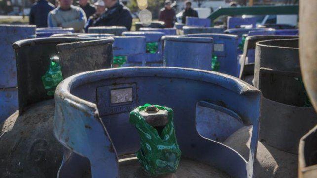 Continúa la venta de garrafas de gas a precio diferencial